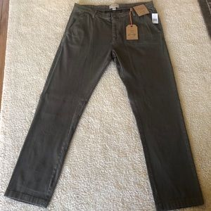 Weatherproof Vintage Cotton Twill Casual Pants